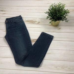 H&M Women's dark wash slim skinny jeans size 6